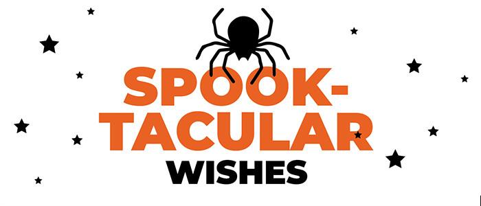 HALLOWEEN spooktacularwishes2 sugarwishecard