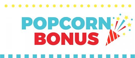 UDC bonus sugarwishecard popcorn