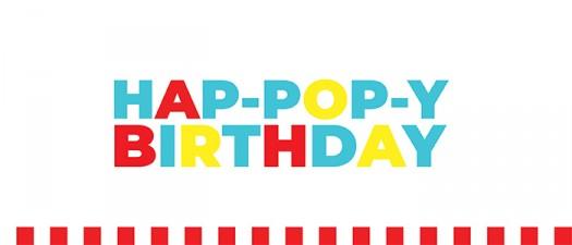 POPPYBIRTHDAY popcorn 2 sugarwishecard