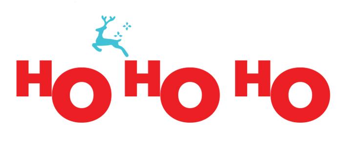 HOHOHO holidays sugarwishecard
