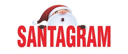 SANTAGRAM holidays sugarwishecard