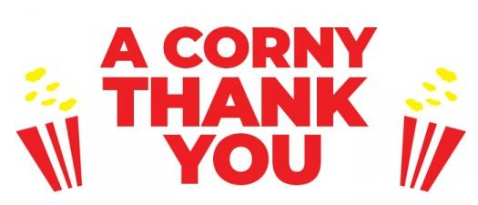 THANKS popcorn cornythankyou sugarwishecard thankyou