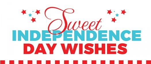 SWEETINDEPENDENCEDAYWISHES JULY4TH sugarwishecard
