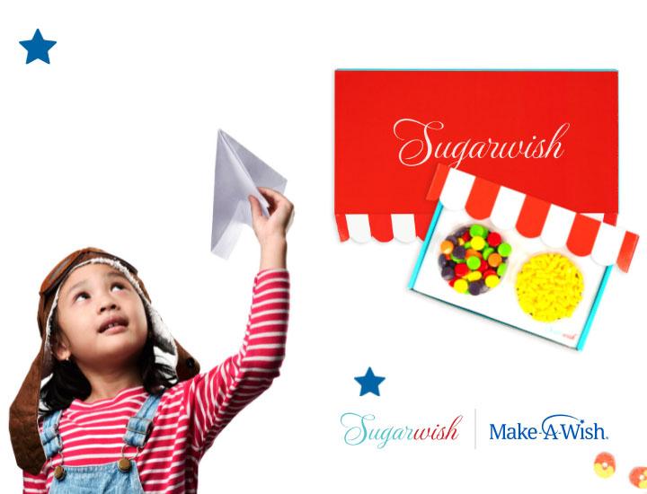 Make-A-Wish mobile hero image