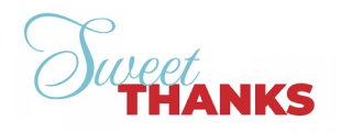 sweet thanks ecard